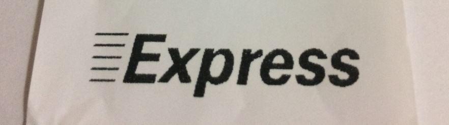 Expressのレシート