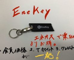 EneKeyの見た目。エネオスで楽なのによりお得。
