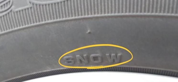 オールシーズンタイヤのSNOWマーク(高速道路の雪の時もOKな冬用タイヤ)
